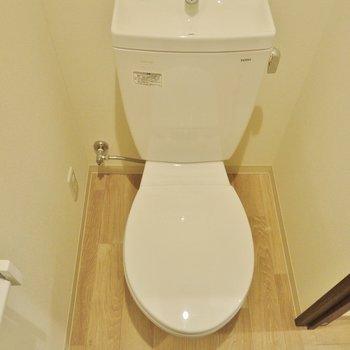 トイレはウォシュレット付いてません。