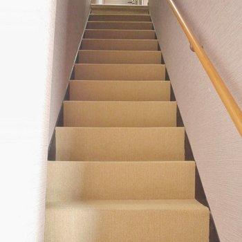 階段はこんな感じ^^