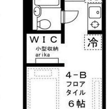 WIC付き1R!!