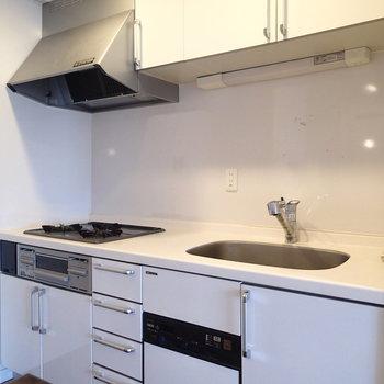 キッチンも大きくて使いやすそうです。※写真は前回募集時ものです。