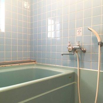 懐かしい雰囲気のお風呂。