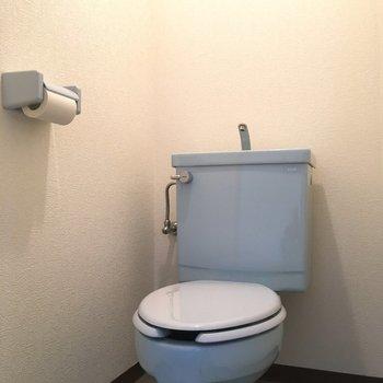 トイレは個室。なんだか、落ち着きますね。
