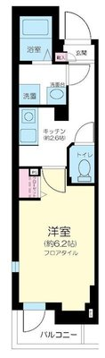 FIRST HOUSE AZUMABASHI の間取り
