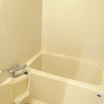 浴室はシンプルです。