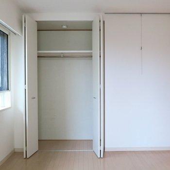 収納はこちらに。※写真は301号室