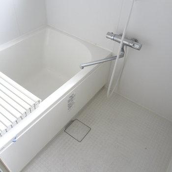 お風呂も1人暮らし用って感じ。