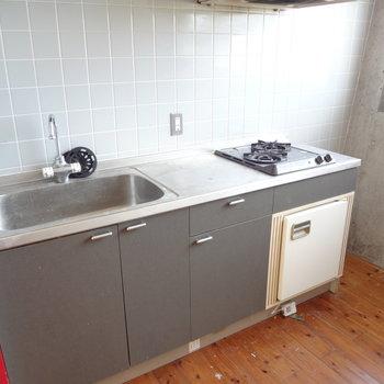 キッチンも広々で使いやすそう!