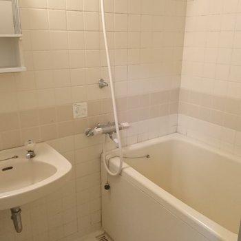 お風呂はここからリニューアルです!※写真は工事前です