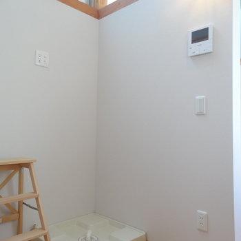 洗濯機置き場はここ ※写真は前回募集時のものです