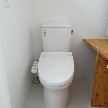トイレでしたー!