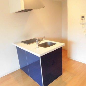 このキッチンの存在感☆※写真は別室、間取り反転です