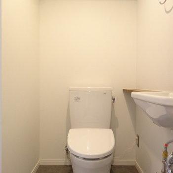 トイレも新しく!