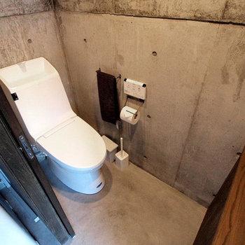 トイレも快適そうだ!