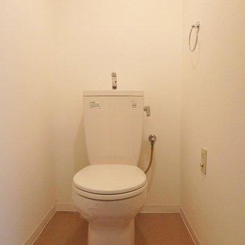 トイレは便座が冷たくなるので、カバーを付けて。