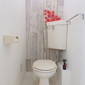 トイレも爽やか。
