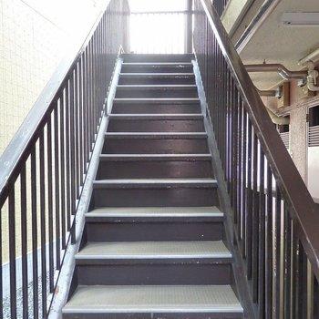 4階までエクササイズ感覚で頑張りましょう!