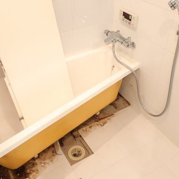 浴室は今からキレイになりますよ〜!