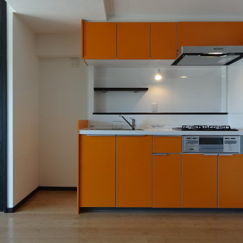 オレンジ色ライフ