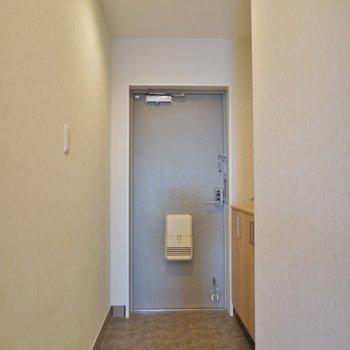 玄関もちゃんとスペースありますよ。