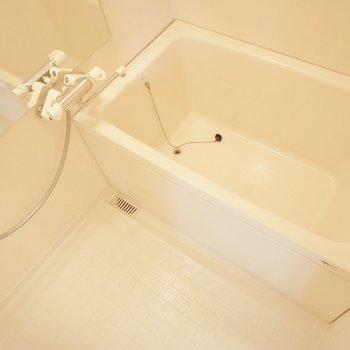 お風呂の深さに注目です!