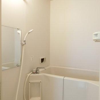 シンプルな空間。お風呂