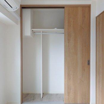 3枚ドアで間口が広いのが使いやすい!