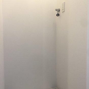 室内洗濯機置き場もあって、洗濯もらくらく
