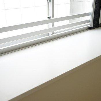出窓に植物とか置きたいですね。※写真は反転タイプの別部屋