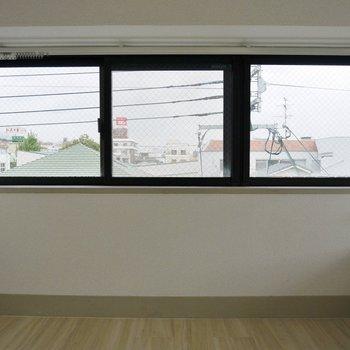 こっちにも窓・窓・窓!!