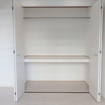 収納は2段でたっぷりサイズ。 ※前回募集時の室内写真となります