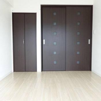 洋室はもう1部屋あります。どちらかはリビング仕様にしてもいいかも。