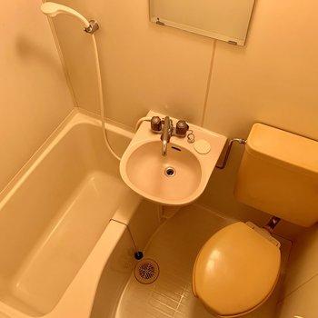 トイレの色はピンクベージュで落ち着きを。※写真は前回募集時のものです