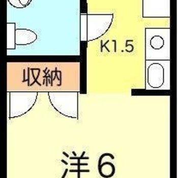 シンプル1K