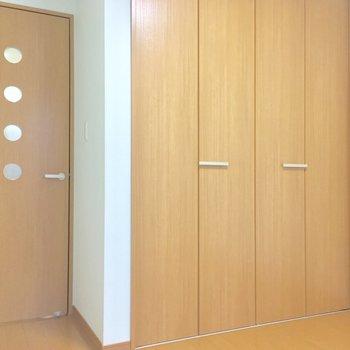 ドアの水玉がカワイイっ※写真は前回募集時のものです
