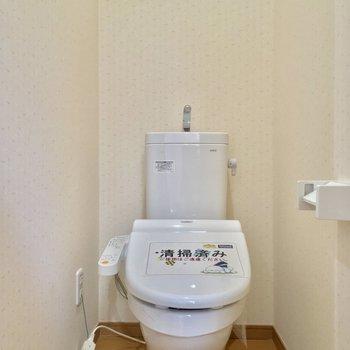 トイレもきちんと個室です※写真は前回募集時のものです
