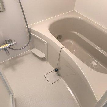 お風呂も新しい!