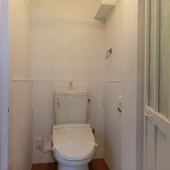 トイレはウォシュレットに※写真は前回掲載時のものです。
