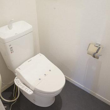 トイレもウォシュレット付きで新品に!