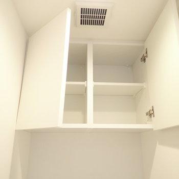 上にはペーパー置き場です。