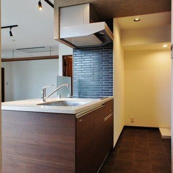 キッチンはこんなスペース。※写真は前回募集時のものです