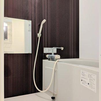 浴室乾燥機付きで雨の日も安心!※写真は前回募集時のものです