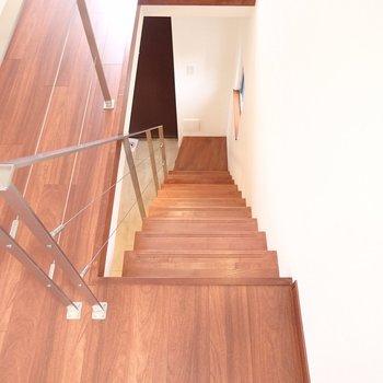 この階段の感じもかっこいい!