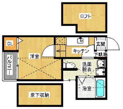 YS吉塚駅東1 の間取り