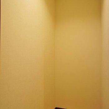 クローゼットは廊下に