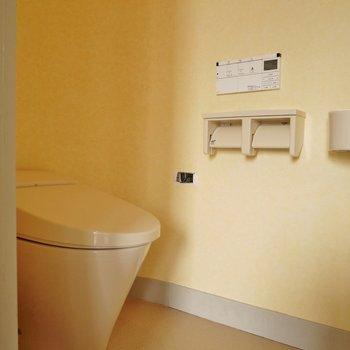 トイレもキレイ~。※写真は前回撮影時のもの