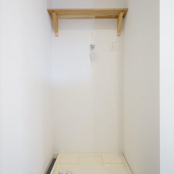 洗濯パンは脱衣スペースに!