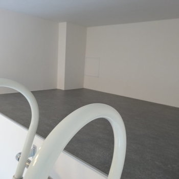 ロフトはこの広さ※写真は1階の反転間取りのものです。