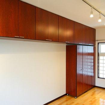 居室の収納も・・・※写真は別部屋です