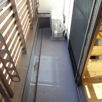 2階にもバルコニーがあります。