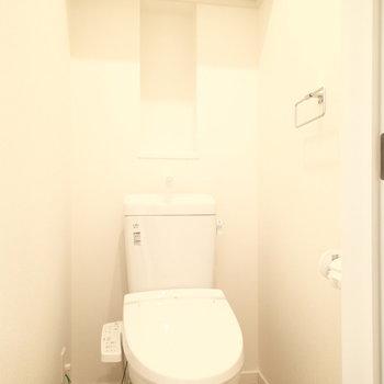 トイレは一階にありました。